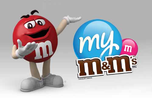 M&Ms Valentines Day Candy