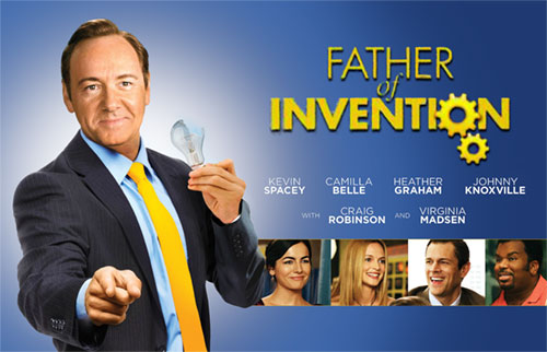 Father of Invention - Kevin Spacey - Camilla Belle - Healther Graham - Johnny Knoxville - Craig Robinson - Virginia Madsen