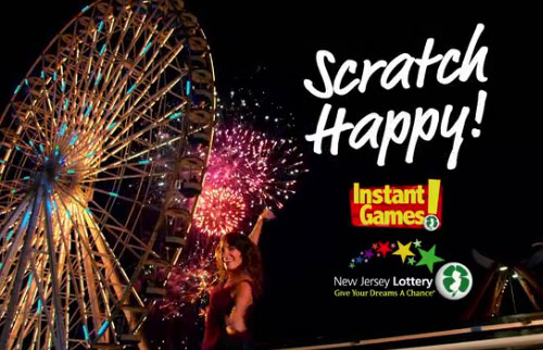 NJ Scratch Happy Lottery